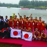 【ボート】アジアボート選手権 3位入賞
