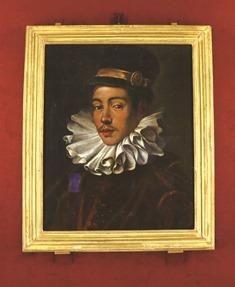 天正遣欧少年使節の一人、伊東マンショの肖像画。本作は日本初公開