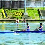 【ボートインカレ】男子舵手なしペア 7位入賞