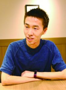 勝野岳 かつの・がく 大阪府立大学卒業後、本学商学研究科経営学修士コースに進学。専門はスポーツマーケティング。 IT系企業に内定中。