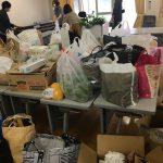 新型コロナ 市民が中和寮に食料寄付